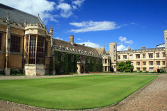 Universidad de la trinidad, Cambridge Fotos de archivo libres de regalías