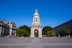 Universidad de la trinidad, Dublín imagen de archivo