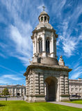 Universidad de la trinidad, Dublín fotos de archivo libres de regalías