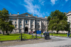 Universidad de la trinidad, Dublín fotografía de archivo
