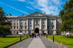 Universidad de la trinidad, Dublín imágenes de archivo libres de regalías