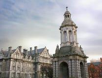 Universidad de la trinidad, Dublín foto de archivo libre de regalías