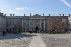Universidad de la trinidad en Dublín, Irlanda, 2015 Foto de archivo
