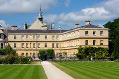 Universidad de la trinidad, Universidad de Oxford Fotografía de archivo