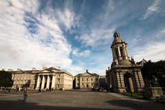 Universidad de la trinidad, universidad en Dublín Imagenes de archivo
