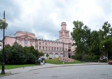 Universidad de la universidad de ITMO de las tecnologías de la información, de los mecánicos y de la óptica Fotografía de archivo libre de regalías