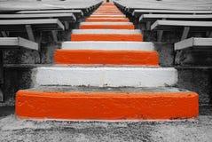 Universidad de las escaleras del campo de fútbol de Tennessee fotos de archivo