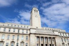 Universidad de Leeds Fotografía de archivo