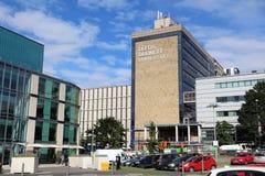 Universidad de Leeds Beckett imágenes de archivo libres de regalías