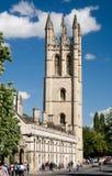 Universidad de Magdalen, Oxford Fotos de archivo libres de regalías