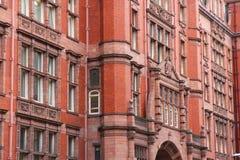 Universidad de Manchester Fotos de archivo libres de regalías