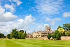 Universidad de Merton en Oxford imágenes de archivo libres de regalías