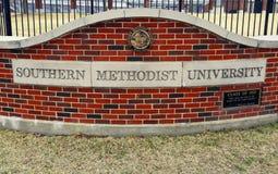 Universidad de methodist meridional foto de archivo libre de regalías