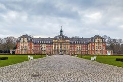 Universidad de Munster, Alemania imagen de archivo
