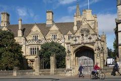 Universidad de Oxford imágenes de archivo libres de regalías