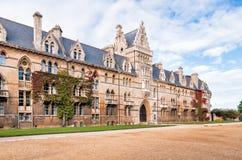 Universidad de Oxford de la iglesia de Cristo Imagen de archivo libre de regalías