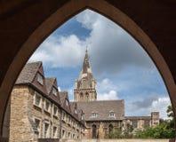 Universidad de Oxford Inglaterra Foto de archivo libre de regalías
