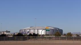 Universidad de Phoenix Stadium cardinal, AZ Fotografía de archivo libre de regalías