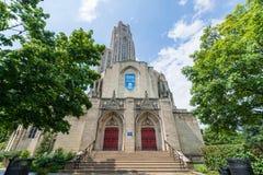 Universidad de Pittsburgh, Pennsylvania en Oakland del norte foto de archivo libre de regalías
