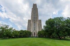 Universidad de Pittsburgh, Pennsylvania en Oakland del norte imagenes de archivo