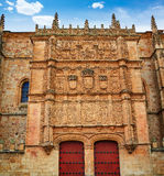 Universidad de Salamanca University Spain. Universidad de Salamanca University facade in Spain stock image