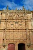 Universidad de Salamanca University Spain. Universidad de Salamanca University facade in Spain stock photography