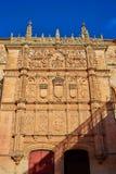 Universidad de Salamanca University Spain. Universidad de Salamanca University facade in Spain stock images