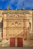 Universidad de Salamanca University Spain. Universidad de Salamanca University facade in Spain stock photos