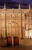 Universidad de Salamanca University Spain. Universidad de Salamanca University facade in Spain royalty free stock photography