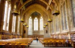 Universidad de Seattle de la biblioteca central de Washington Fotografía de archivo
