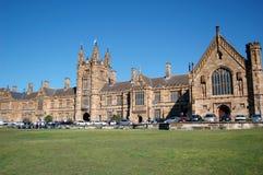 Universidad de Sydney foto de archivo libre de regalías