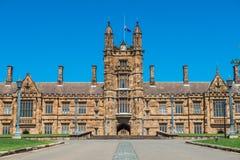 Universidad de Sydney foto de archivo