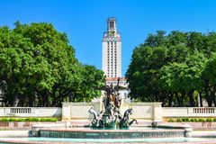 Universidad de Texas Austin Fotografía de archivo libre de regalías
