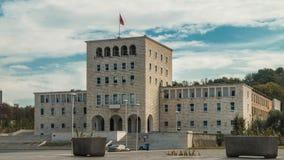 Universidad de Tirana fotografía de archivo libre de regalías