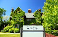 Universidad de Toronto Foto de archivo libre de regalías