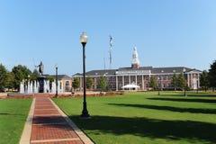 Universidad de Troy Fotos de archivo libres de regalías