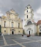 Universidad de Vilna Imágenes de archivo libres de regalías