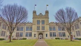 Universidad de Wooster, Ohio imagen de archivo libre de regalías
