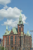 Universidad de Wroclaw - biblioteca Fotos de archivo libres de regalías