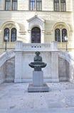 Universidad de Zagreb imagen de archivo libre de regalías