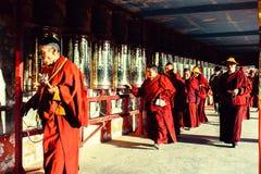 Universidad del buddhism de Seda Larong Wuming fotografía de archivo