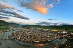 Universidad del buddhism de Yaqing Fotografía de archivo libre de regalías