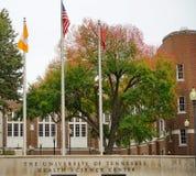 Universidad del centro de la ciencia de Tennessee Health Imagen de archivo