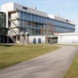 Universidad del edificio de la química de Maguncia Imagen de archivo libre de regalías