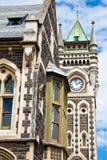 Universidad del edificio del registro de Otago Imagen de archivo libre de regalías