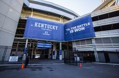 Universidad del estadio de fútbol de la Commonwealth de los gatos monteses de Kentucky Fotografía de archivo libre de regalías
