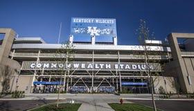 Universidad del estadio de fútbol de la Commonwealth de los gatos monteses de Kentucky Imágenes de archivo libres de regalías