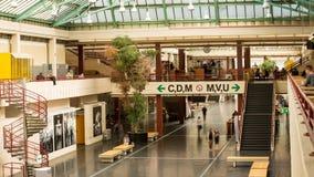 Universidad del lapso de tiempo principal del pasillo de Bielefeld almacen de metraje de vídeo