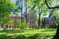 Universidad del nacional de Yurii Fedkovych Chernivtsi imagen de archivo libre de regalías