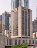 Universidad del paso en Nueva York Imagenes de archivo